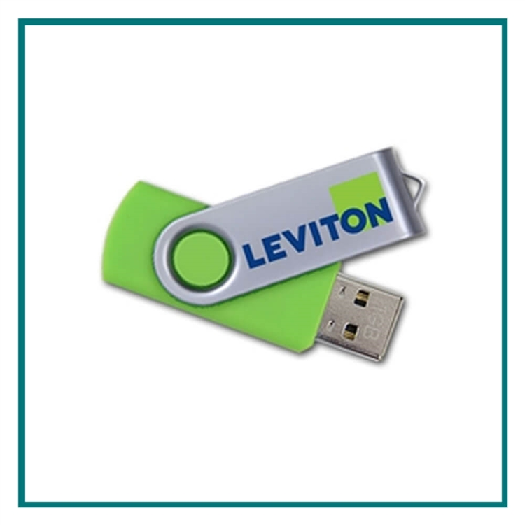 4GB Swivel Promotional Flash Drive