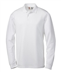 Clique Men's L/S Evans Polo MQK00012 Custom Embroidered