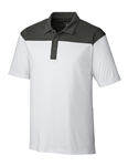 Clique Men's Parma Colorblock Polo MQK00050 Custom Embroidered