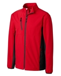Clique Men's Narvik Colorblock Softshell MQO00056 Custom Embroidered