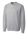 Clique Adult Basics Fleece Crew MRK01002 Custom Embroidered