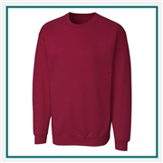 Clique Adult Extended Size Basics Fleece Crew MRK01003 Custom Embroidered