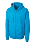 Clique Adult Basics Fleece Full Zip Hoodie MRK03001 Custom Embroidered