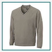 Nike Men's V-Neck Windshirt with Custom Embroidery, Nike Embroidered Windshirts, Nike Corporate Sales