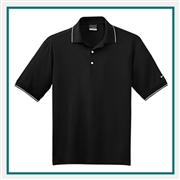 Nike Golf Men's Classic Tipped Polo with Custom Embroidery, Nike Custom Polos, Nike Custom Logo Gear
