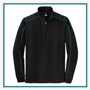 Nike Golf Men's 1/2 Zip Dri Fit Cover Up with Custom Embroidery, Nike Golf Corporate Outerwear, Nike Golf Men's Golf Cover Up