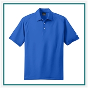 Nike Men's Dri-Fit Mini Texture Polo with Custom Embroidery, Nike Embroidered Polos, Nike Branded Polos