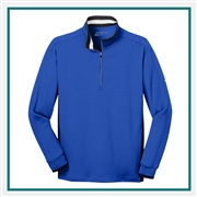 Nike Men's Dri-FIT 1/2-Zip Cover Up with Custom Embroidery, Nike Branded Pullovers, Nike Corporate Sales