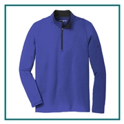 Nike Golf Men's Dri-Fit Stretch 1/2 Zip Cover-Up with Custom Embroidery, Nike Golf Corporate Apparel, Nike Golf Men's Golf Cover-Up