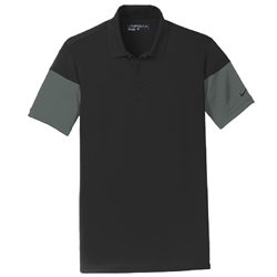 Nike Golf Men S Dri Fit Sleeve Colorblock Polo Custom Embroidered