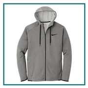 Nike Men's Therma-FIT Textured Fleece Full-Zip Hoodie with Custom Embroidery, Nike Branded Hoodies, Nike Promotional Wholesale