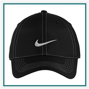 Nike Golf Swoosh Front Cap with Custom Embroidery, Nike Custom Caps, Nike Custom Logo Gear