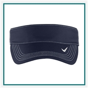 Nike Golf Dri-Fit Swoosh Visor with Custom Embroidery, Nike Custom Visors, Nike Custom Logo Gear