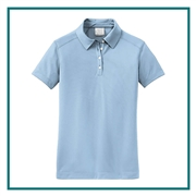 Nike Golf Ladies Pebble Texture Polo with Custom Embroidery, Nike Custom Polos, Nike Custom Logo Gear