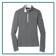 Nike Golf Ladies Dri Fit Stretch 1/2 Zip 779796, Nike Promotional Pullovers, Nike Custom Logo