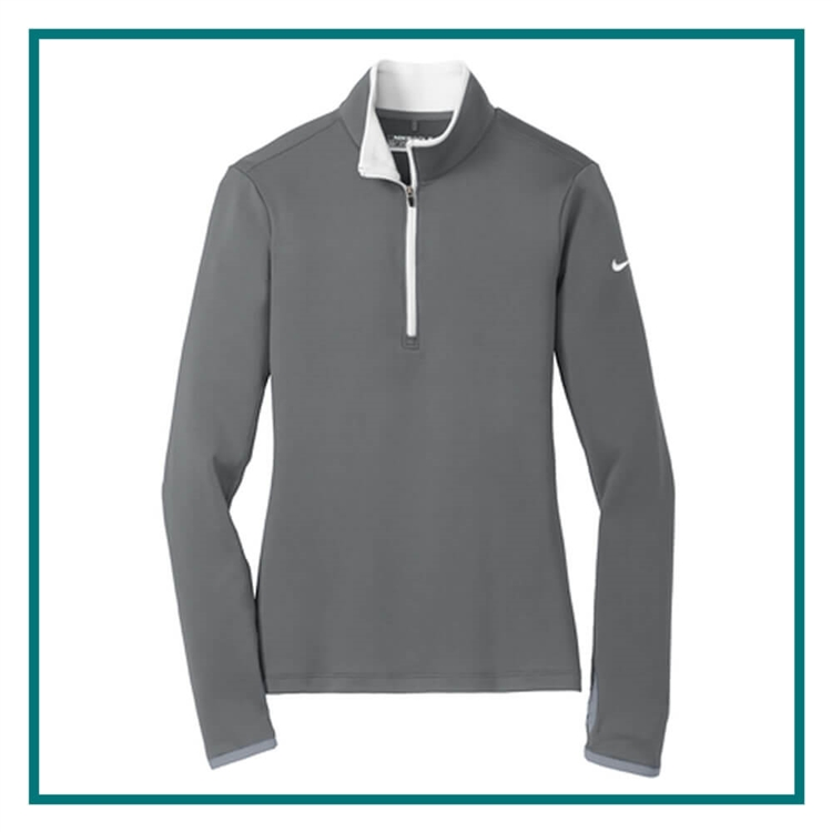 Nike Dri-FIT Stretch 1/2-Zip Embroidered