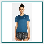 Nike Ladies Short Sleeve Running Top Custom Embroidered
