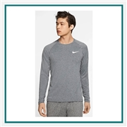 Nike Men's Pro Long Sleeve Top Custom Logo