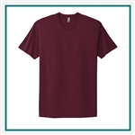 Next Level Men's Premium Fitted Short-Sleeve Crew 3600 with Custom Embroidery, Custom Embroidered Next Level T-shirts, Next Level 3600 T-shirt Best Price