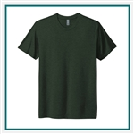 Next Level Men's Tri-Blend Crew 6010 with Custom Embroidery, Custom Embroidered Next Level T-shirts, Next Level 6010 T-shirt Best Price