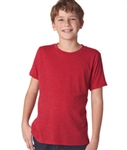 Next Level Boys' Tri-Blend Crew N6310 with Custom Embroidery, Custom Embroidered Next Level T-shirts, Next Level N6310 T-shirt Best Price