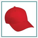 Outdoor Cap 6-Panel Structured Cotton Twill Custom