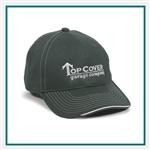 Outdoor Cap 6-Panel Twill Cap w/ Visor Piping Accent, Outdoor Cap BTP100, Outdoor Cap Promotional Headwear, Outdoor Cap Buy Online