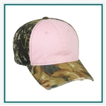 Outdoor Cap 6-Panel Frayed Visor Ladies Camo Cap, Outdoor Cap CGWT611, Outdoor Cap Promotional Headwear, Outdoor Cap Buy Online