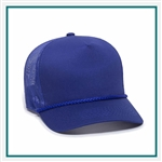 Outdoor Cap Cotton 5-Panel Mesh Back Cotton Twil Cap, Outdoor Cap GL155, Outdoor Cap Promotional Headwear, Outdoor Cap Buy Online, Outdoor Cap Embroidered