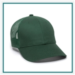 Outdoor Cap 6-Panel Structured Mesh Back Cap GL270, Outdoor Cap Promotional Headwear, Outdoor Caps Corporate Sales