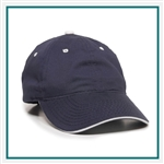 Outdoor Cap 6-Panel Untructured Cap with Contrasting Accent GL645, Outdoor Cap GL645, Outdoor Cap Promotional Headwear, Outdoor Cap Buy Online