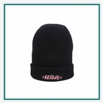 Outdoor Cap 100% Acrylic Knit Beanie, Outdoor Cap KN275, Outdoor Cap Promotional Headwear, Outdoor Cap Buy Online, Outdoor Cap Embroidered
