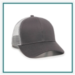 Outdoor Cap Structured Mesh Back Cap Custom