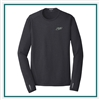 OGIO Men's ENDURANCE Long Sleeve Pulse Crew T-Shirt with Custom Embroidery, OGIO Custom T-Shirts, OGIO Corporate & Groups Sales