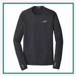 OGIO Men's ENDURANCE Long Sleeve Pulse Crew T-Shirt with Custom Embroidery, OGIO Custom T-Shirts, OGIO Custom Logo Gear