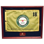 Origins Custom Solid Hardwood Flag Frame LDFD001 - Engraved, Origins of Golf Frames, Origins Golf Awards