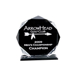 Origins Large Custom Acrylic Golf Acclaim Award Trophy with Custom Logo, Origins Branded Golf Awards