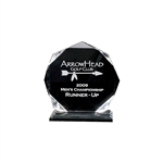 Origins Medium Custom Acrylic Golf Acclaim Award Trophy with Custom Logo, Origins Branded Golf Awards