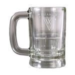 Origins Glass 12 oz. Mugg LKGW007 - Laser Engraving, Origins of Golf Ceramic, Origins Golf Awards