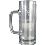 Origins Glass 22 oz. Mugg with Laser Engraved Logo, Origins Co-Branded Golf Awards