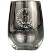 Origins Stemless Wine Glass 17 oz. with Laser Engraved Logo, Origins Co-Branded Golf Awards
