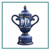 Origins Custom Men's Golf Cup Large Ceramic Trophy with Engraved Logo, Origins Co-Branded Golf Awards