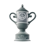 Origins Custom Cup Small Ceramic Golf Trophy with Engraved Logo, Origins Co-Branded Golf Awards