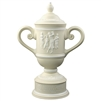 Origins Ladies' Golf Cup Large Ceramic Trophy with Engraved Logo, Origins Co-Branded Golf Awards
