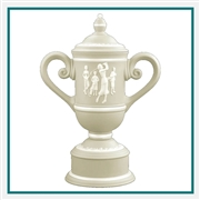 Origins Custom Ladies' Golf Cup Small Ceramic Trophy with Engraved Logo, Origins Co-Branded Golf Awards