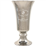 Origins Custom Golf Trumpet Series Small Ceramic Trophy with Engraved Logo, Origins Branded Golf Awards