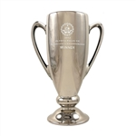 Origins Custom Golf Conductor's Series Large Ceramic Trophy with Engraved Logo, Origins Branded Golf Awards