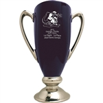 Origins Custom Men's Golf Conductor's Series Large Ceramic Trophy with Engraved Logo, Origins Branded Golf Awards