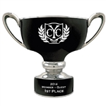 Origins Men's Golf Timpani Series Small Ceramic Trophy with Engraved Logo, Origins Branded Golf Awards