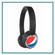 Origaudio Beebop Bluetooth Headphones with Custom Embroidery, Origaudio Custom Bluetooth Headphones, Origaudio Corporate Logo Gear